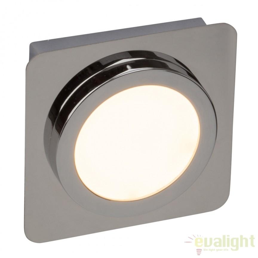 Spot LED aplicat pentru baie cu protectie IP44 Magellan G29091/15 BL, Spoturi incastrate, aplicate - tavan / perete, Corpuri de iluminat, lustre, aplice, veioze, lampadare, plafoniere. Mobilier si decoratiuni, oglinzi, scaune, fotolii. Oferte speciale iluminat interior si exterior. Livram in toata tara.  a