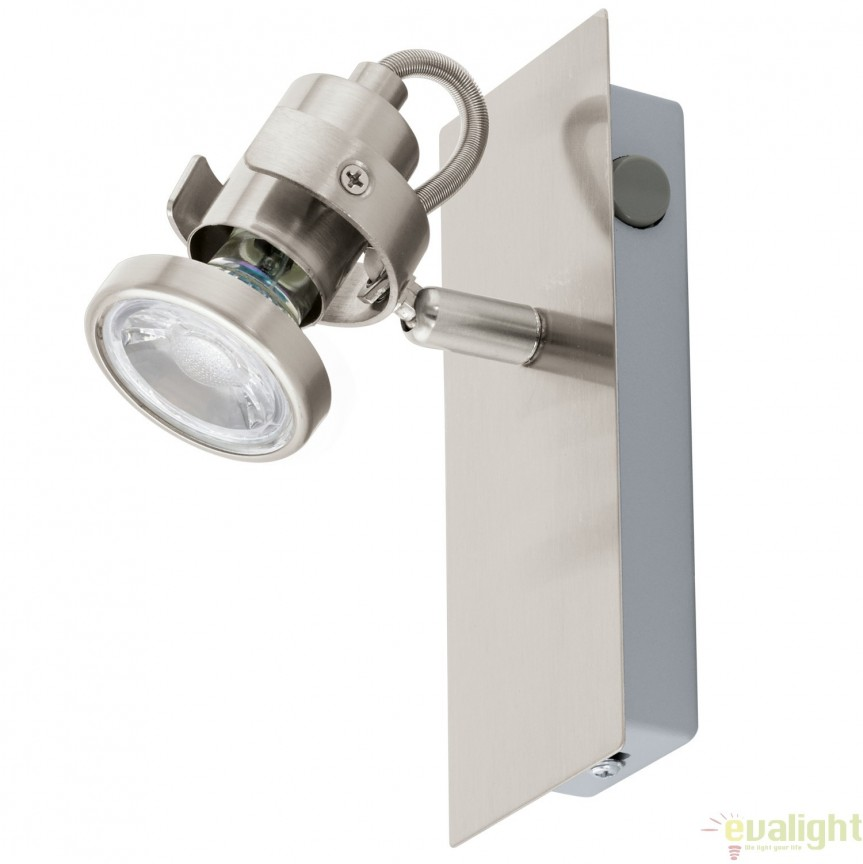 Aplica de perete GU10-LED, nickel, TUKON 3 94144 EL, Magazin, Corpuri de iluminat, lustre, aplice, veioze, lampadare, plafoniere. Mobilier si decoratiuni, oglinzi, scaune, fotolii. Oferte speciale iluminat interior si exterior. Livram in toata tara.  a
