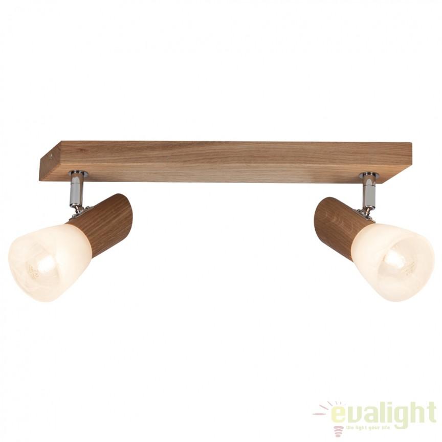 Plafoniera design rustic FOREST II 23129/35 BL, Plafoniere, Spots, Corpuri de iluminat, lustre, aplice, veioze, lampadare, plafoniere. Mobilier si decoratiuni, oglinzi, scaune, fotolii. Oferte speciale iluminat interior si exterior. Livram in toata tara.  a