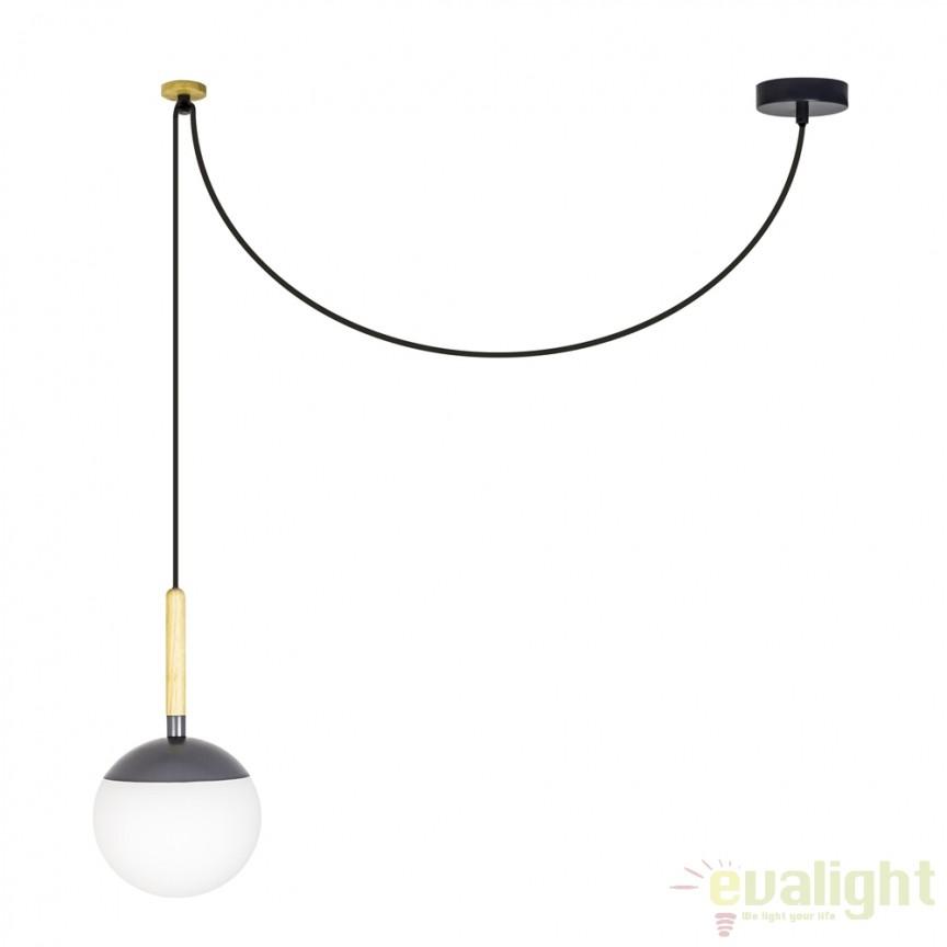 Pendul design modern minimalist MINE Grey 28376 , Promotii si Reduceri⭐ Oferte ✅Corpuri de iluminat ✅Lustre ✅Mobila ✅Decoratiuni de interior si exterior.⭕Pret redus online➜Lichidari de stoc❗ Magazin ➽ www.evalight.ro. a
