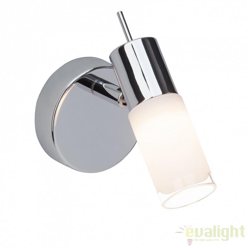 Aplica de perete moderna LED Zoey G57510/75 BL, Aplice de perete LED, Corpuri de iluminat, lustre, aplice, veioze, lampadare, plafoniere. Mobilier si decoratiuni, oglinzi, scaune, fotolii. Oferte speciale iluminat interior si exterior. Livram in toata tara.  a