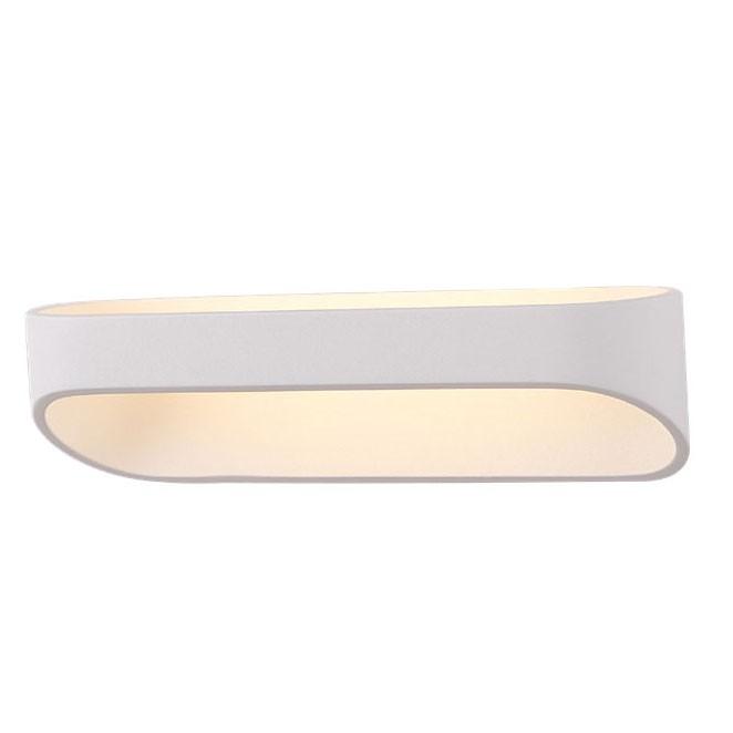 Aplica de perete LED, L-25cm, alb, Zafira I W0163 MX, Aplice de perete LED, Corpuri de iluminat, lustre, aplice, veioze, lampadare, plafoniere. Mobilier si decoratiuni, oglinzi, scaune, fotolii. Oferte speciale iluminat interior si exterior. Livram in toata tara.  a