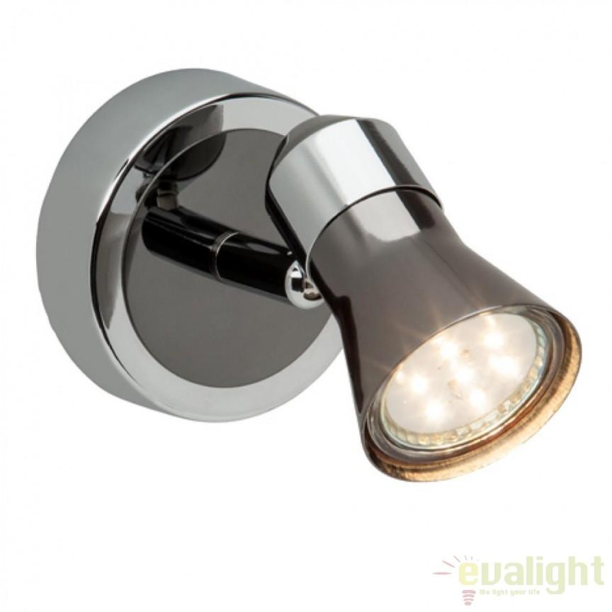 Aplica de perete moderna LED Jupp G18310/76 BL, Aplice de perete LED, Corpuri de iluminat, lustre, aplice, veioze, lampadare, plafoniere. Mobilier si decoratiuni, oglinzi, scaune, fotolii. Oferte speciale iluminat interior si exterior. Livram in toata tara.  a