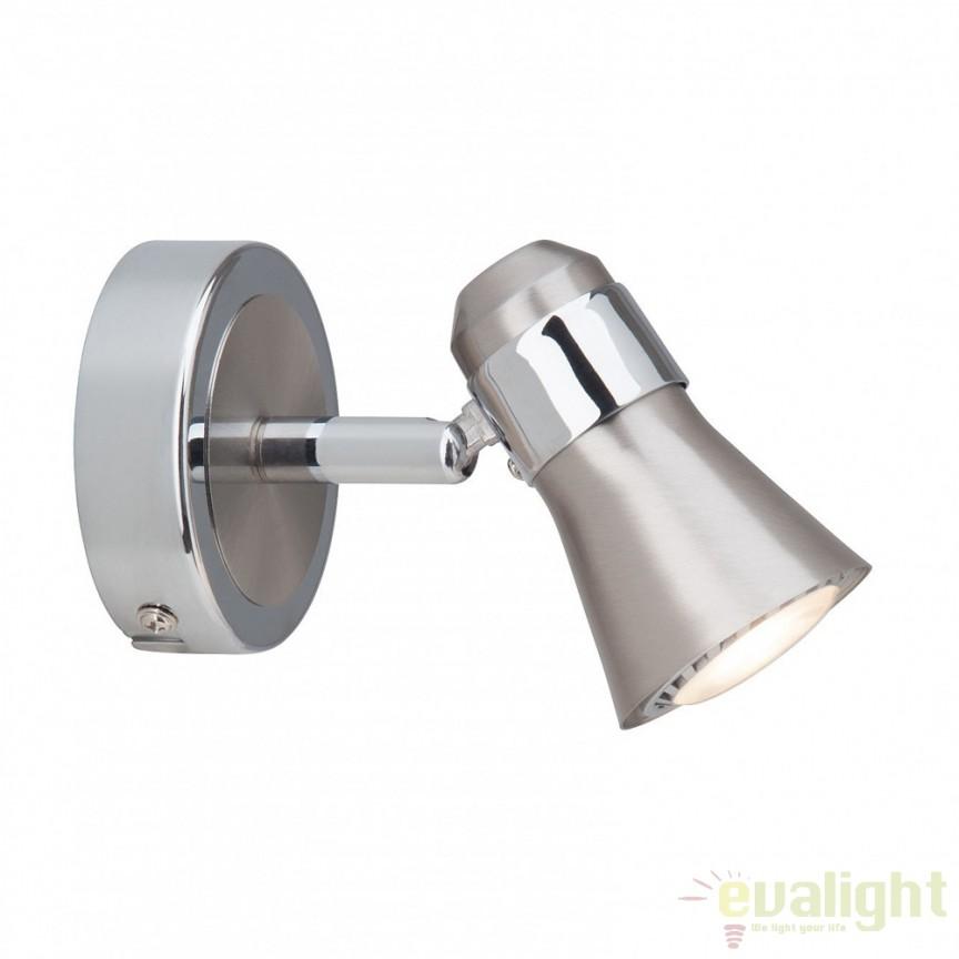 Aplica de perete moderna LED Sanny G15410/77 BL, Aplice de perete LED, Corpuri de iluminat, lustre, aplice, veioze, lampadare, plafoniere. Mobilier si decoratiuni, oglinzi, scaune, fotolii. Oferte speciale iluminat interior si exterior. Livram in toata tara.  a