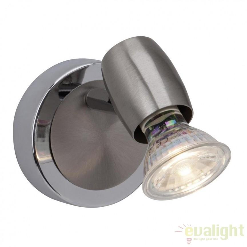 Aplice de perete moderna LED Wesley G54810/77 BL, Aplice de perete LED, Corpuri de iluminat, lustre, aplice, veioze, lampadare, plafoniere. Mobilier si decoratiuni, oglinzi, scaune, fotolii. Oferte speciale iluminat interior si exterior. Livram in toata tara.  a