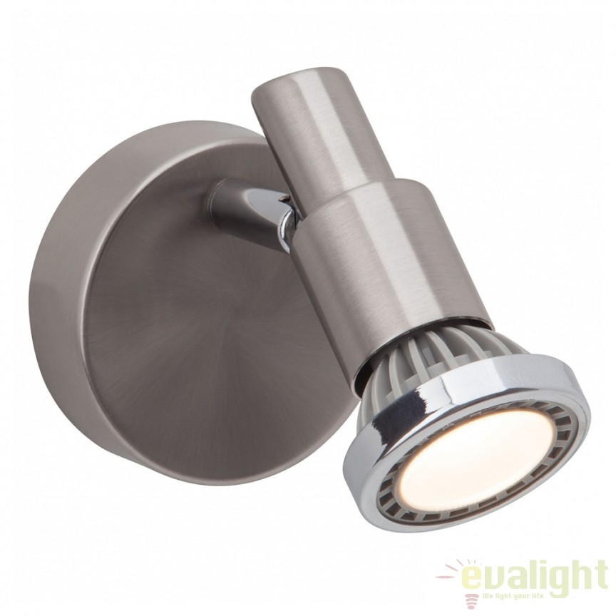 Aplica de perete moderna LED Ryan G57410/77 BL, Aplice de perete LED, Corpuri de iluminat, lustre, aplice, veioze, lampadare, plafoniere. Mobilier si decoratiuni, oglinzi, scaune, fotolii. Oferte speciale iluminat interior si exterior. Livram in toata tara.  a