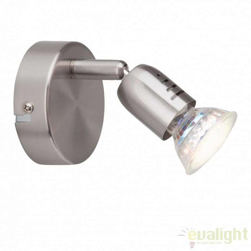 Aplica de perete moderna LED Loona G28810/13 BL, Aplice de perete LED, Corpuri de iluminat, lustre, aplice, veioze, lampadare, plafoniere. Mobilier si decoratiuni, oglinzi, scaune, fotolii. Oferte speciale iluminat interior si exterior. Livram in toata tara.  a