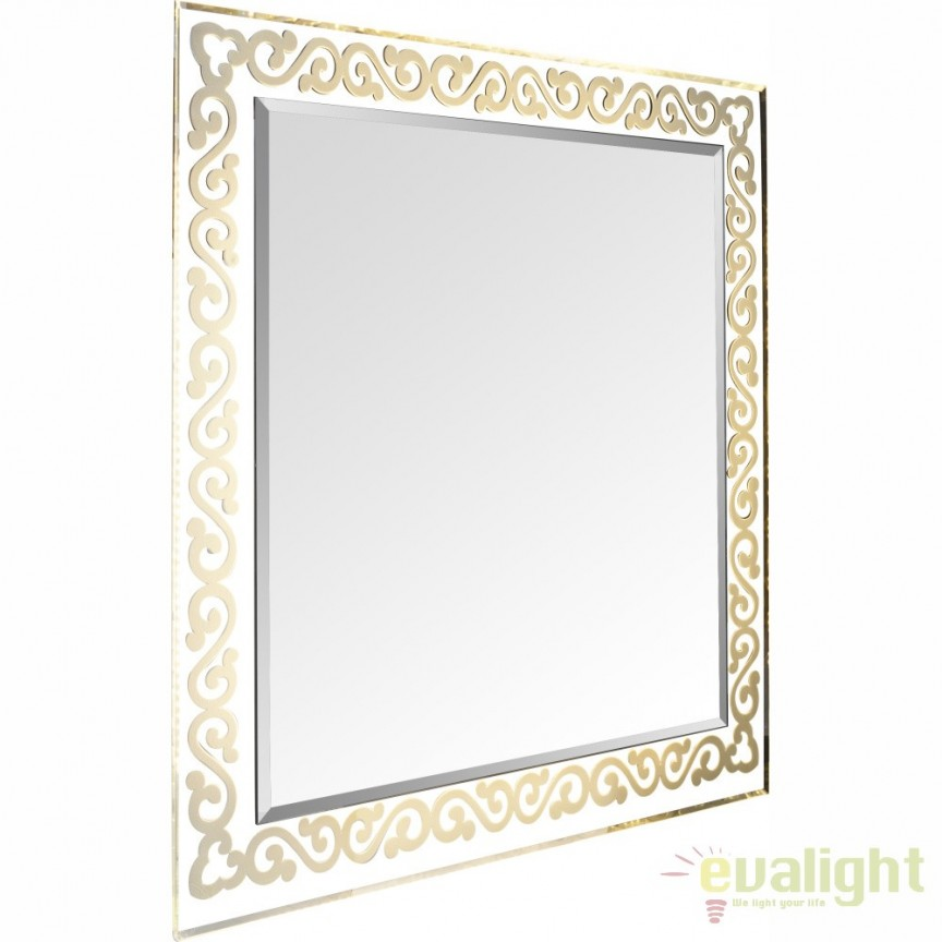 Oglinda cu iluminat LED lumina calda si protectie IP44, Sanchez 84016 GL, Oglinzi pentru baie, Corpuri de iluminat, lustre, aplice a