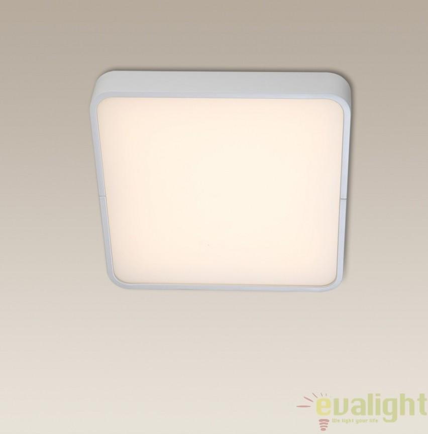 Aplica / Plafoniera LED, 30x30cm, alb, KARE C0105 MX, PROMOTII, Corpuri de iluminat, lustre, aplice, veioze, lampadare, plafoniere. Mobilier si decoratiuni, oglinzi, scaune, fotolii. Oferte speciale iluminat interior si exterior. Livram in toata tara.  a