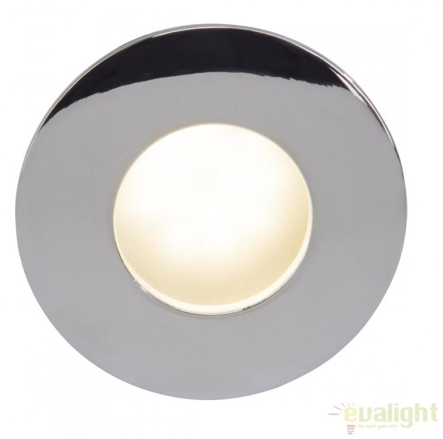 Spot incastrabil cu protectie umiditate IP65 Lawina 94669/15 BL, Spoturi incastrate, aplicate - tavan / perete, Corpuri de iluminat, lustre, aplice, veioze, lampadare, plafoniere. Mobilier si decoratiuni, oglinzi, scaune, fotolii. Oferte speciale iluminat interior si exterior. Livram in toata tara.  a