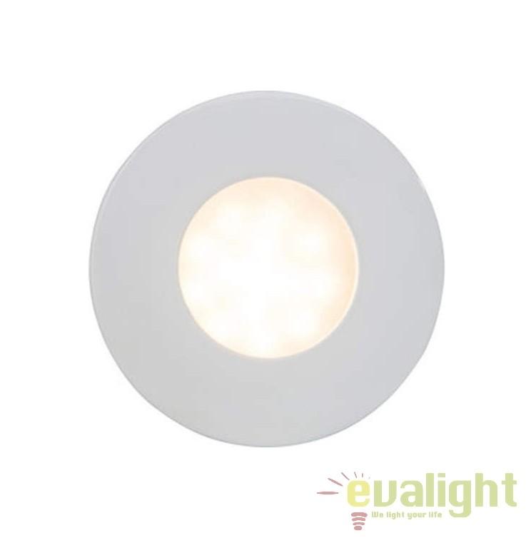 Spot incastrabil cu protectie umiditate IP44 Darcey 94671/05 BL, Spoturi incastrate, aplicate - tavan / perete, Corpuri de iluminat, lustre, aplice, veioze, lampadare, plafoniere. Mobilier si decoratiuni, oglinzi, scaune, fotolii. Oferte speciale iluminat interior si exterior. Livram in toata tara.  a