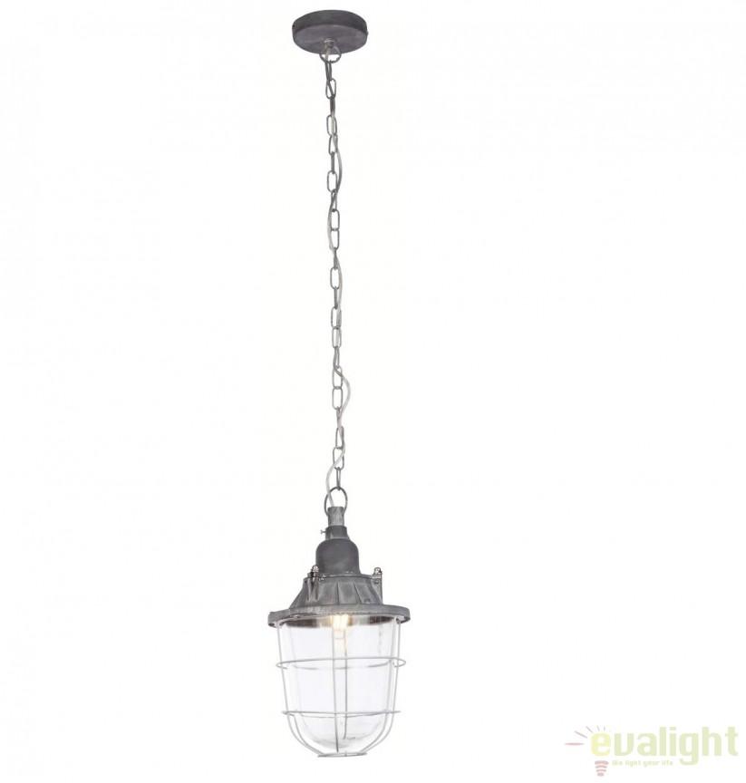 Pendul design Industrial Style Storm 93652/70 BL, NOU ! Lustre VINTAGE, RETRO, INDUSTRIA Style,  a