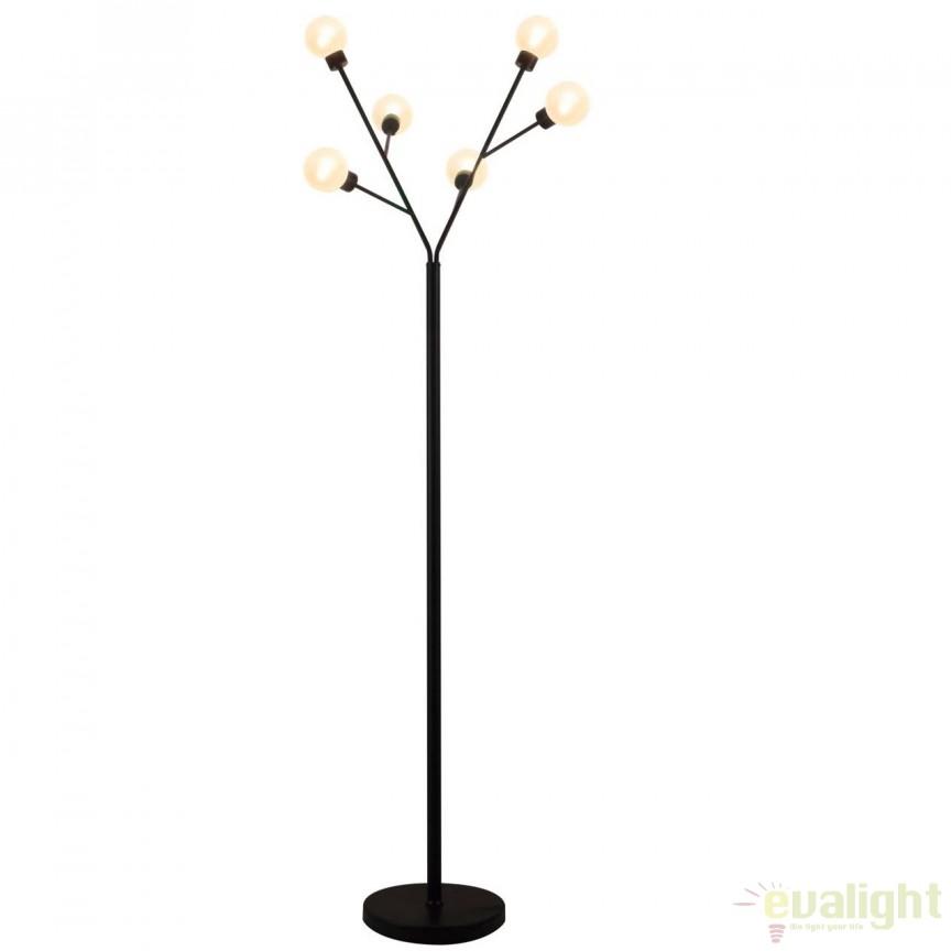 Lampadar / Lampa de podea design modern Shoot 93666/06 BL, PROMOTII, Corpuri de iluminat, lustre, aplice, veioze, lampadare, plafoniere. Mobilier si decoratiuni, oglinzi, scaune, fotolii. Oferte speciale iluminat interior si exterior. Livram in toata tara.  a