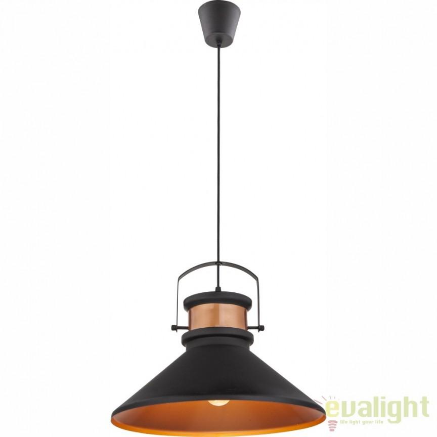 nou lustre vintage retro industria style corpuri de iluminat lustre aplice. Black Bedroom Furniture Sets. Home Design Ideas