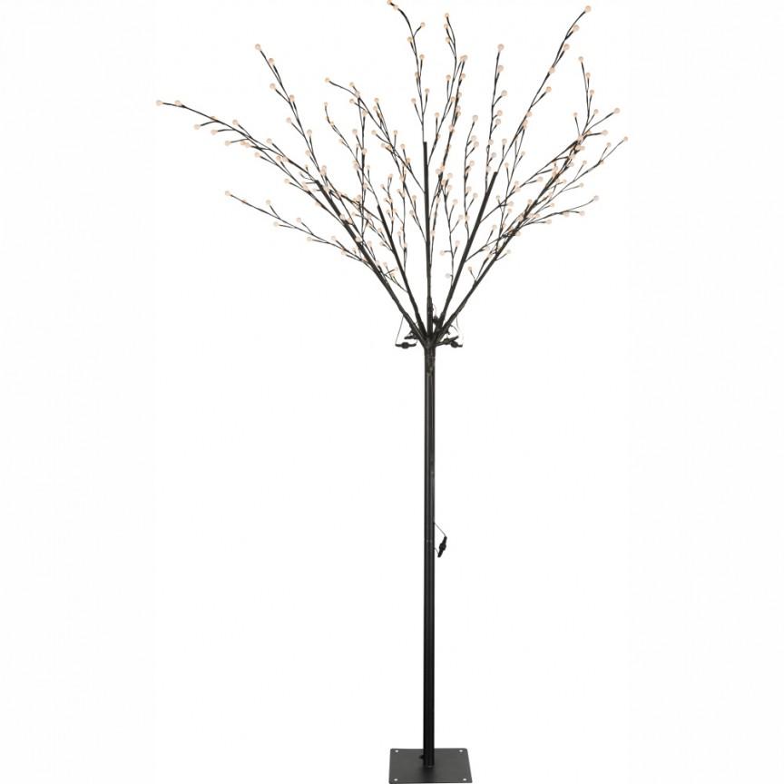 Pom decorativ de exterior cu iluminat LED, IP44, VIRIDIS 39115 GL, ILUMINAT FESTIV, Corpuri de iluminat, lustre, aplice a