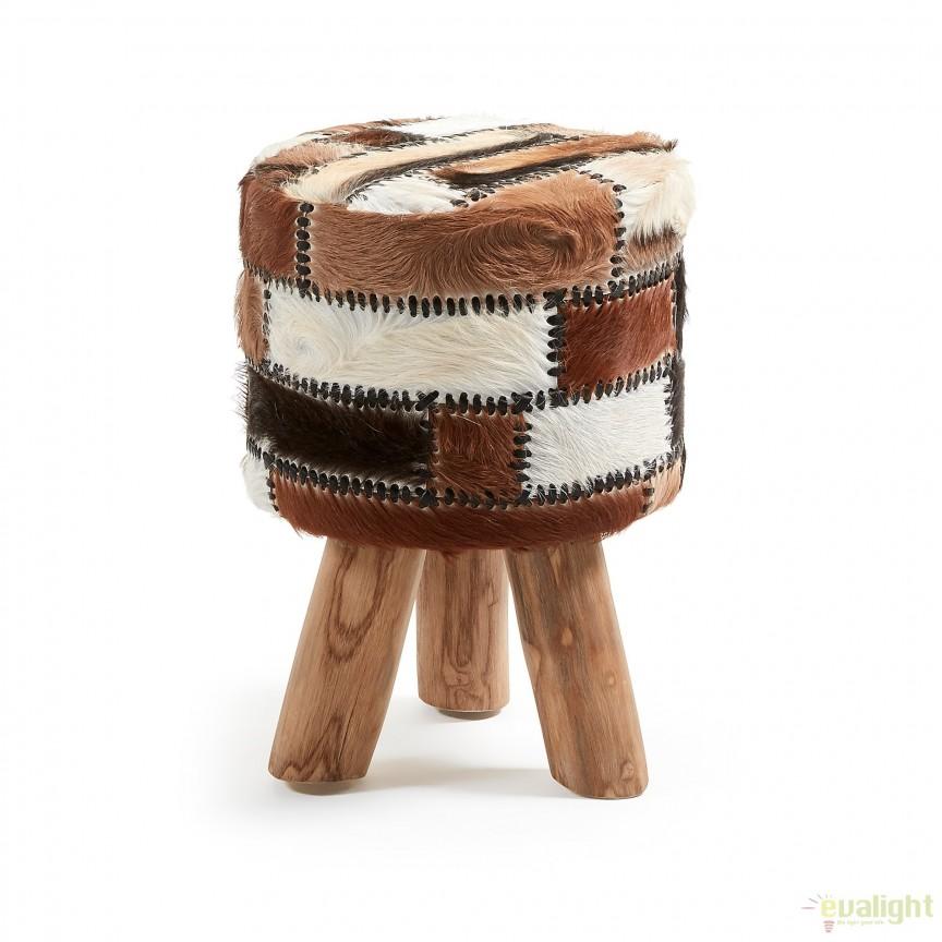 plafoniere banci : tec, piele naturala de capra OLSON 30cm CC0060P35 JG, Tabureti - Banci ...