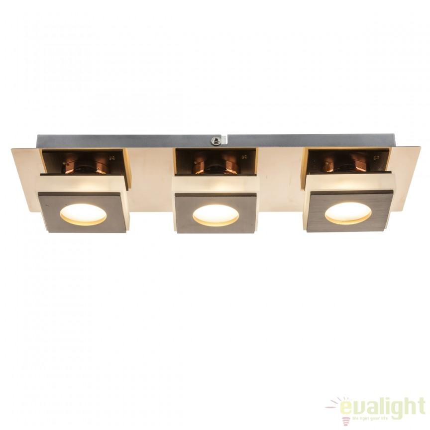 Aplica de perete LED moderna Cayman I 15Watt 49403-3 GL, ILUMINAT INTERIOR LED , ⭐ modele moderne de lustre LED cu telecomanda potrivite pentru living, bucatarie, birou, dormitor, baie, camera copii (bebe si tineret), casa scarii, hol. ✅Design de lux premium actual Top 2020! ❤️Promotii lampi LED❗ ➽ www.evalight.ro. Alege oferte la sisteme si corpuri de iluminat cu LED dimabile (becuri cu leduri si module LED integrate cu lumina calda, naturala sau rece), ieftine si de lux, calitate deosebita la cel mai bun pret. a