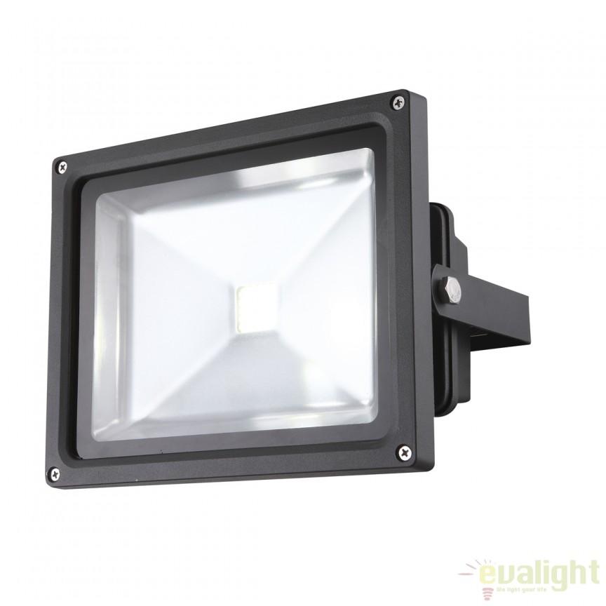 Proiector de exterior cu iluminat LED, protectie IP65, Projecteur 34116 GL, Proiectoare de iluminat exterior , Corpuri de iluminat, lustre, aplice, veioze, lampadare, plafoniere. Mobilier si decoratiuni, oglinzi, scaune, fotolii. Oferte speciale iluminat interior si exterior. Livram in toata tara.  a