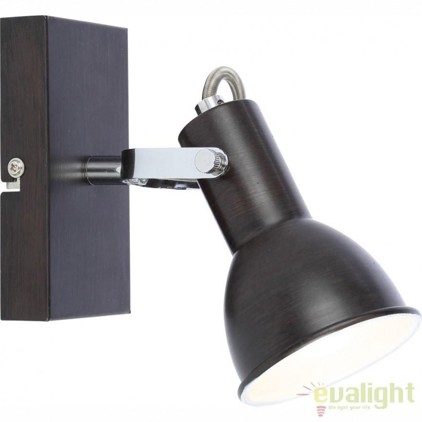 Aplica de perete FARGO 54643-1 GL, PROMOTII, Corpuri de iluminat, lustre, aplice, veioze, lampadare, plafoniere. Mobilier si decoratiuni, oglinzi, scaune, fotolii. Oferte speciale iluminat interior si exterior. Livram in toata tara.  a