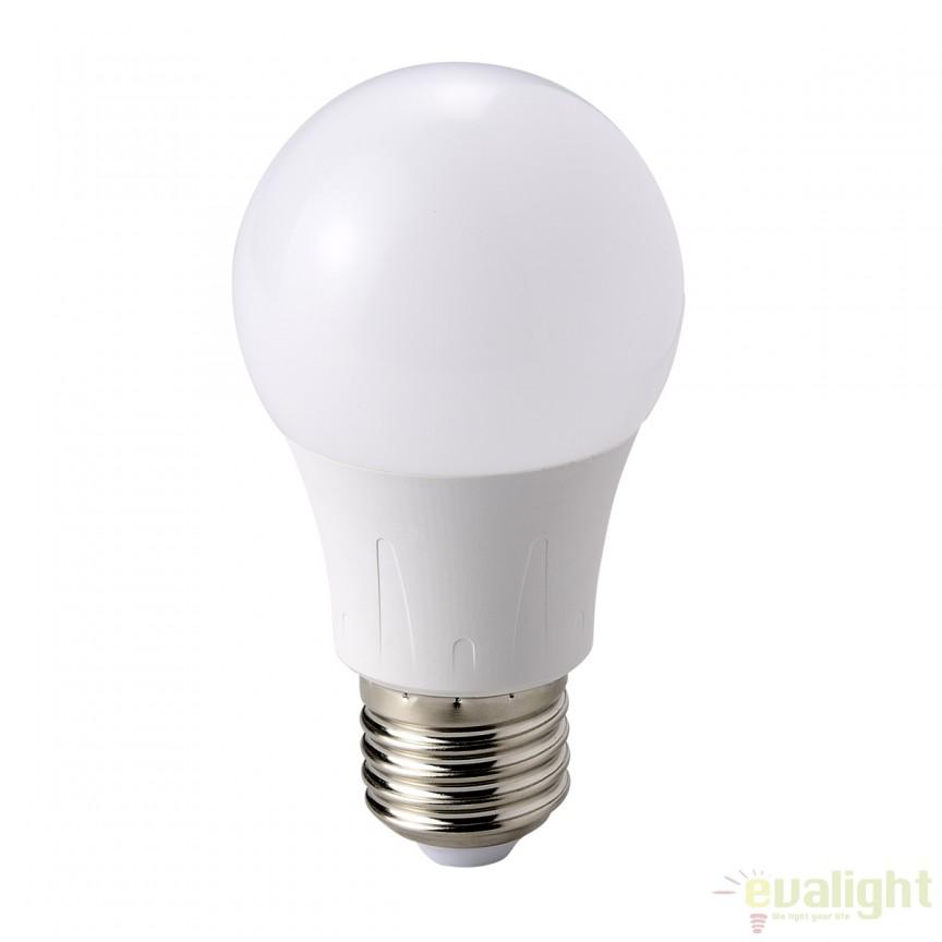 Bec LED E27 7 Watt 560lm 3000K alb opal 10670 GL    , Magazin, Corpuri de iluminat, lustre, aplice, veioze, lampadare, plafoniere. Mobilier si decoratiuni, oglinzi, scaune, fotolii. Oferte speciale iluminat interior si exterior. Livram in toata tara.  a