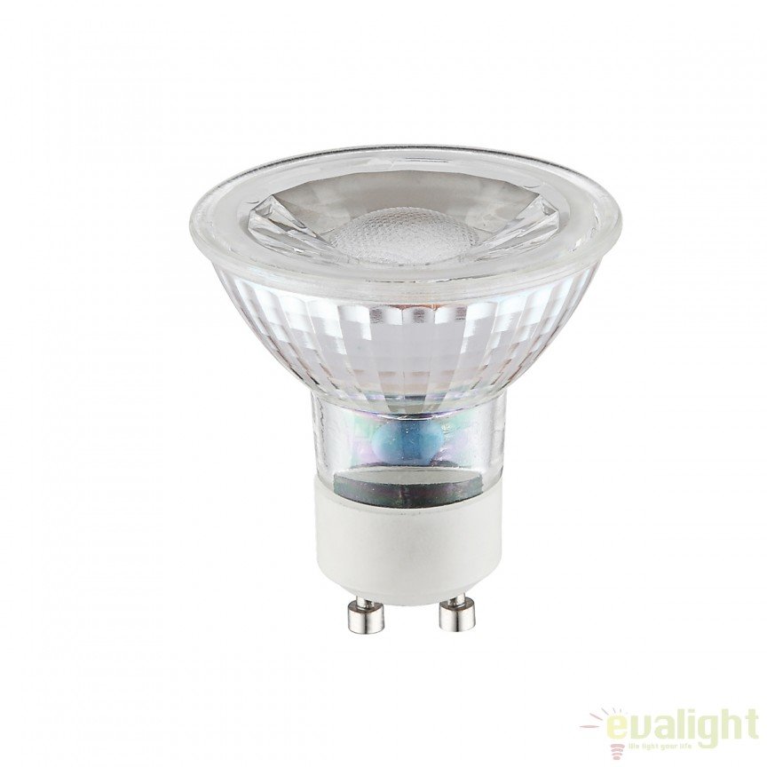 Bec LED GU10 5 Watt 420lm 4000K 10705C GL , Becuri GU10, Corpuri de iluminat, lustre, aplice, veioze, lampadare, plafoniere. Mobilier si decoratiuni, oglinzi, scaune, fotolii. Oferte speciale iluminat interior si exterior. Livram in toata tara.  a