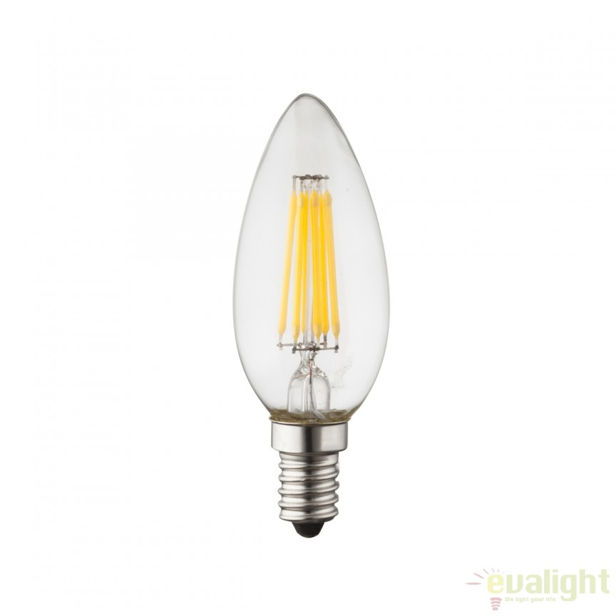 Bec E14 LED candle 4 Watt 400lm 3000K 10583 GL ,  a