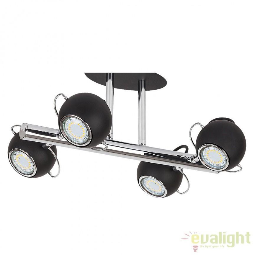 Lustra aplicata design modern 4 spoturi LED Bobby 6829 RX, ILUMINAT INTERIOR LED , ⭐ modele moderne de lustre LED cu telecomanda potrivite pentru living, bucatarie, birou, dormitor, baie, camera copii (bebe si tineret), casa scarii, hol. ✅Design de lux premium actual Top 2020! ❤️Promotii lampi LED❗ ➽ www.evalight.ro. Alege oferte la sisteme si corpuri de iluminat cu LED dimabile (becuri cu leduri si module LED integrate cu lumina calda, naturala sau rece), ieftine si de lux, calitate deosebita la cel mai bun pret. a