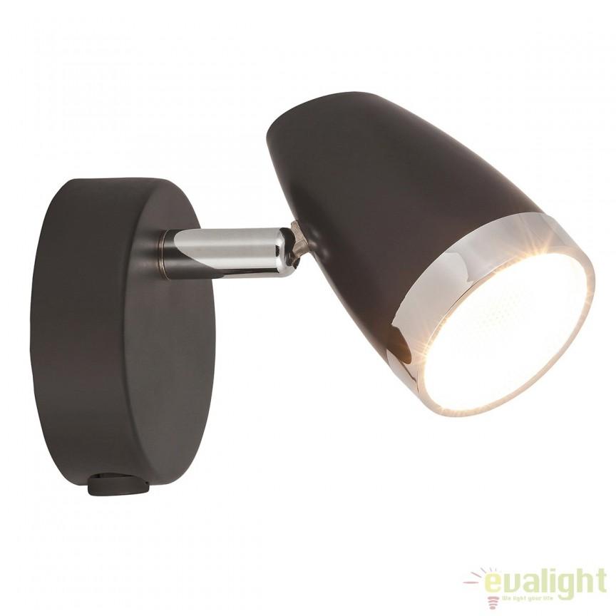 Aplica de perete design modern LED Karen 6512 RX, Aplice de perete LED, Corpuri de iluminat, lustre, aplice, veioze, lampadare, plafoniere. Mobilier si decoratiuni, oglinzi, scaune, fotolii. Oferte speciale iluminat interior si exterior. Livram in toata tara.  a