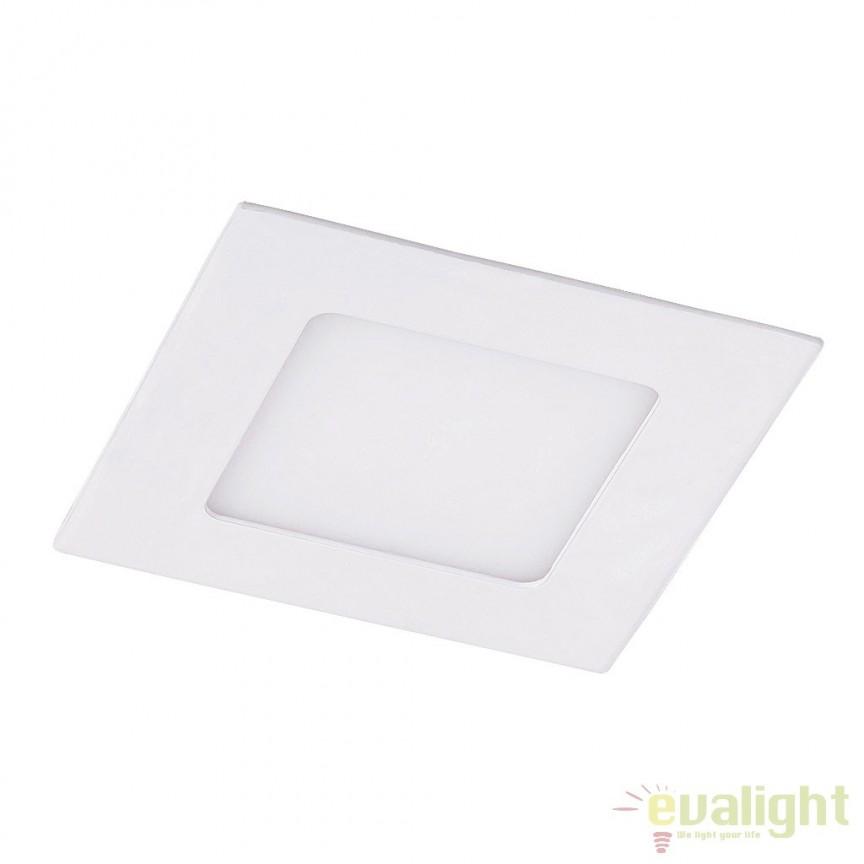 Plafoniera moderna incastrabila 14,7 cm x 14,7 cm LED Miriam 5877 RX, Spoturi LED incastrate, aplicate, Corpuri de iluminat, lustre, aplice a
