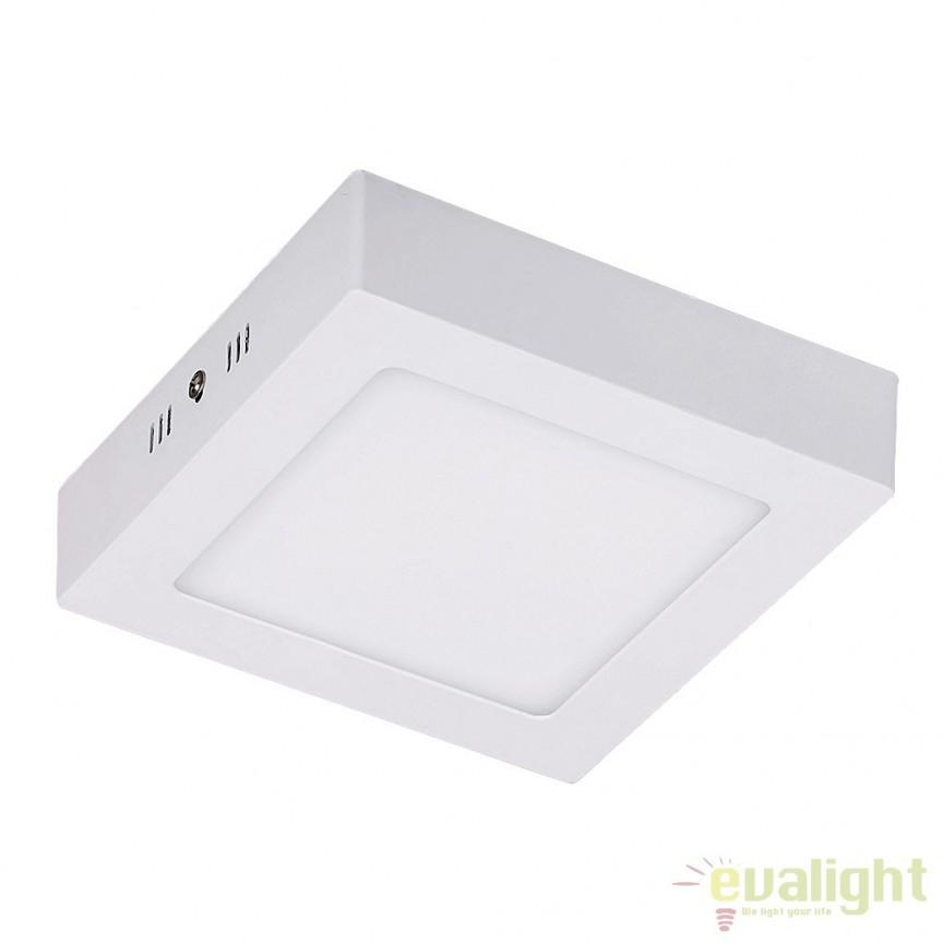 Plafoniera aplicata design modern LED 17,2 cm x 17,2 cm Jane 5882 RX, Spoturi incastrate, aplicate - tavan / perete, Corpuri de iluminat, lustre, aplice a