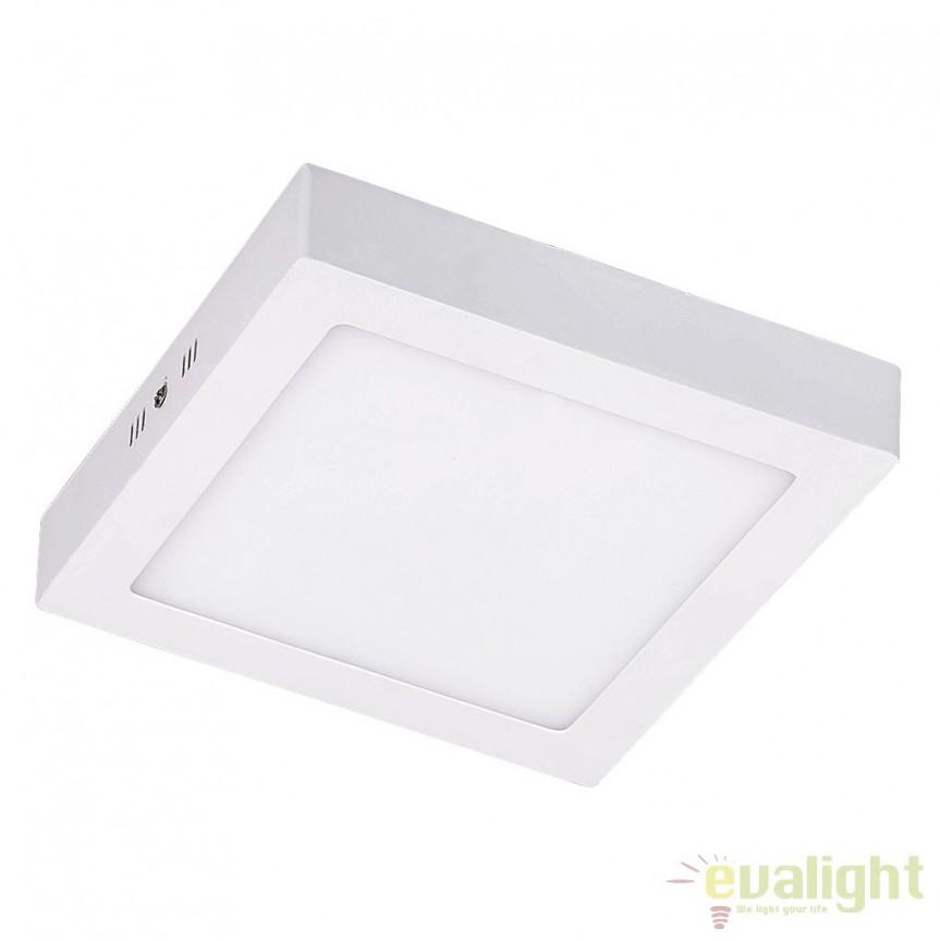 Plafoniera aplicata design modern LED 22,5 cm x 22,5 cm Jane 5883 RX, Spoturi incastrate, aplicate - tavan / perete, Corpuri de iluminat, lustre, aplice a