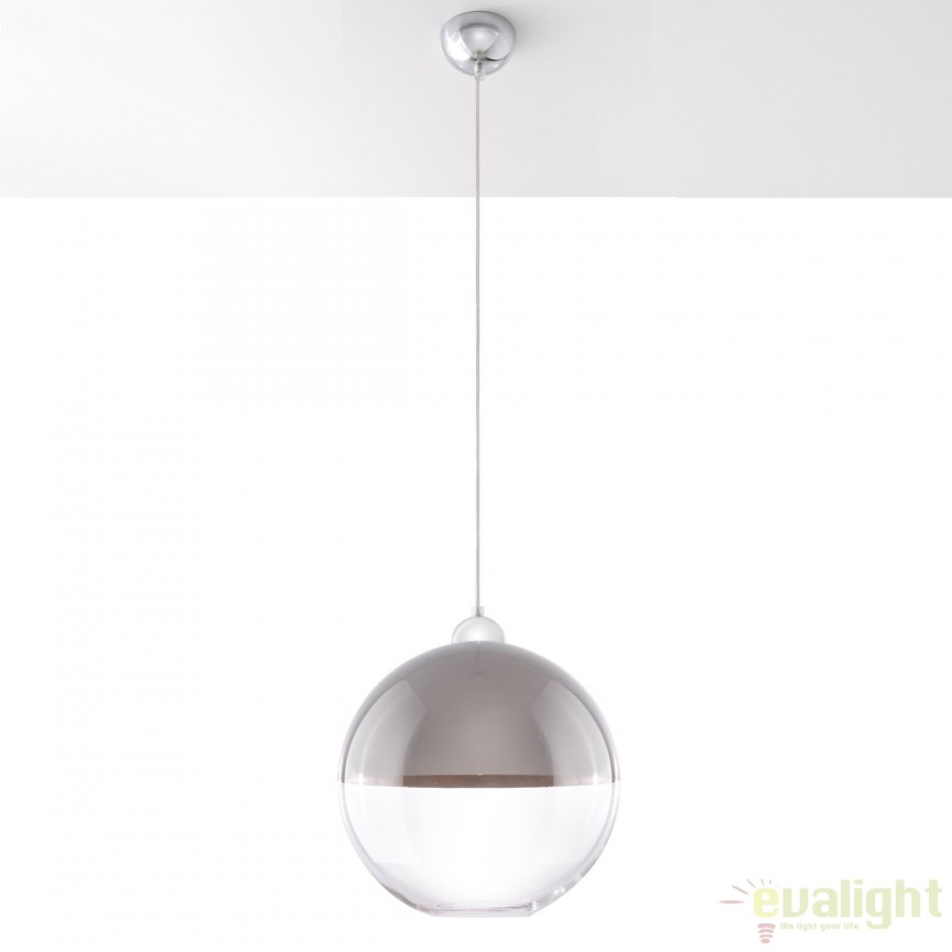 Pendul design modern minimalist GINO gri SL.0271, Outlet,  a