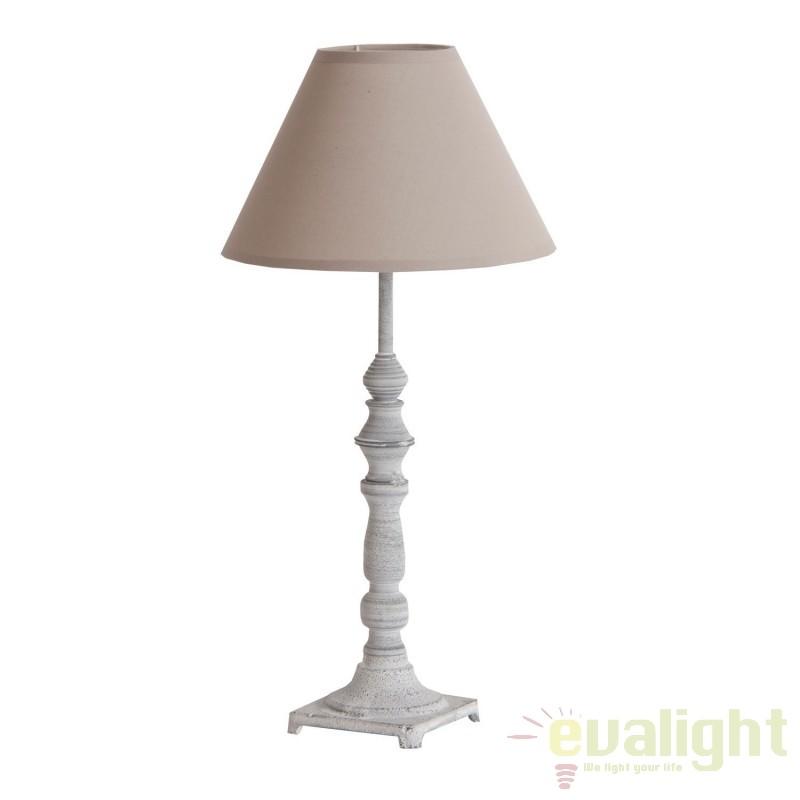 Veioza / Lampa de masa design rustic Akhil 18539 VH, Veioze, Corpuri de iluminat, lustre, aplice, veioze, lampadare, plafoniere. Mobilier si decoratiuni, oglinzi, scaune, fotolii. Oferte speciale iluminat interior si exterior. Livram in toata tara.  a