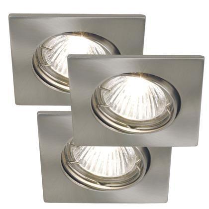Set 3 spoturi orientabile incastrate pt. interior sau exterior Niche 20010132NL, Spoturi incastrate, aplicate - tavan / perete, Corpuri de iluminat, lustre, aplice a