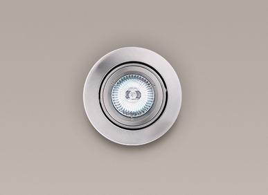Spot incastrabil, nickel satinat, diam.9,5cm, H0037 MX, Spoturi incastrate, aplicate - tavan / perete, Corpuri de iluminat, lustre, aplice a
