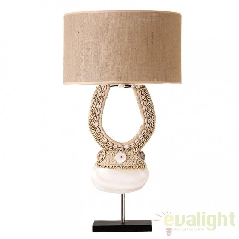 Veioza / Lampa de masa stil rustic Eko 21789 VH, Veioze, Corpuri de iluminat, lustre, aplice, veioze, lampadare, plafoniere. Mobilier si decoratiuni, oglinzi, scaune, fotolii. Oferte speciale iluminat interior si exterior. Livram in toata tara.  a