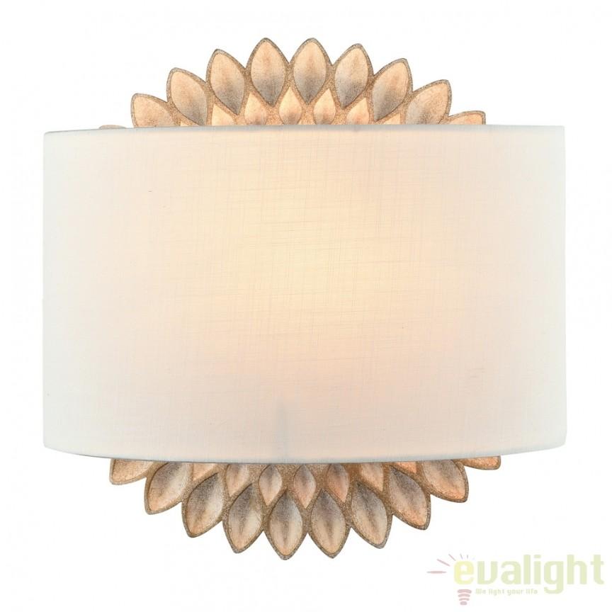 Aplica de perete design clasic Lamar MYH301-01-G, Cele mai vandute Corpuri de iluminat, lustre, aplice, veioze, lampadare, plafoniere. Mobilier si decoratiuni, oglinzi, scaune, fotolii. Oferte speciale iluminat interior si exterior. Livram in toata tara.  a
