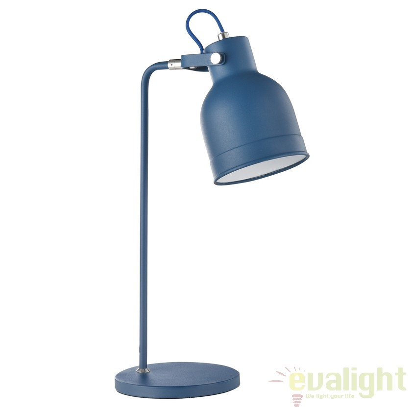 Veioza / Lampa de masa moderna Pixar albasta MYZ148-TL-01-L, Outlet,  a