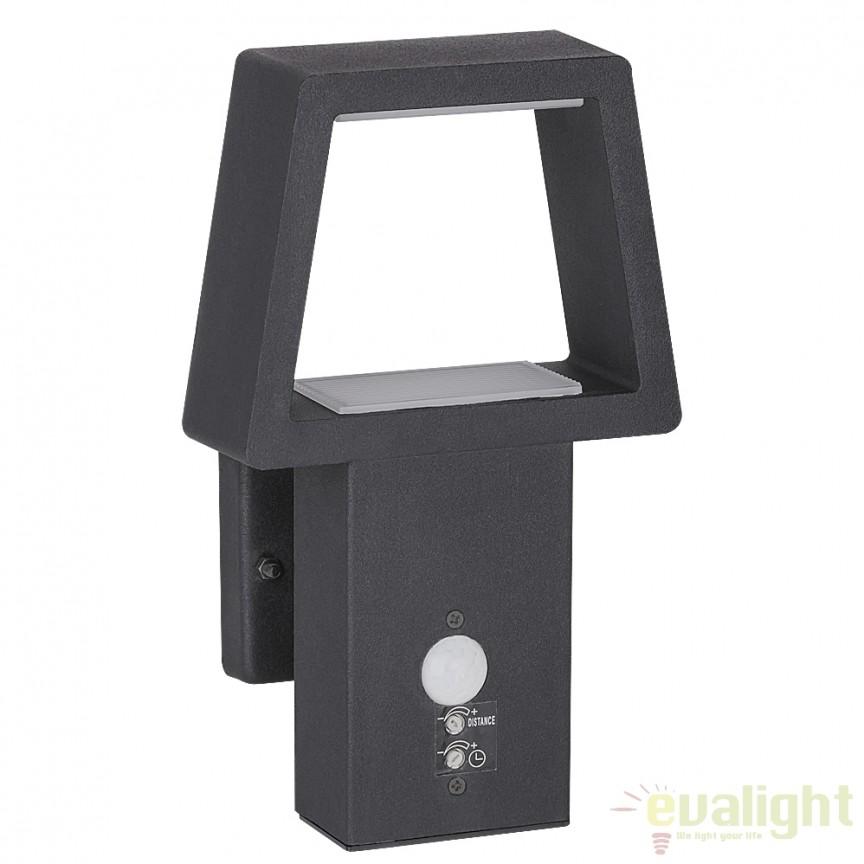 Aplica LED exterior cu senzor de miscare IP44, Arizona 8668 RX, Iluminat cu senzor de miscare, Corpuri de iluminat, lustre, aplice, veioze, lampadare, plafoniere. Mobilier si decoratiuni, oglinzi, scaune, fotolii. Oferte speciale iluminat interior si exterior. Livram in toata tara.  a