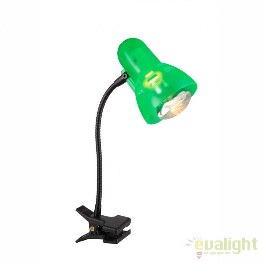 Veioza, lampa de masa Birou Clip 54854 GL, PROMOTII,  a