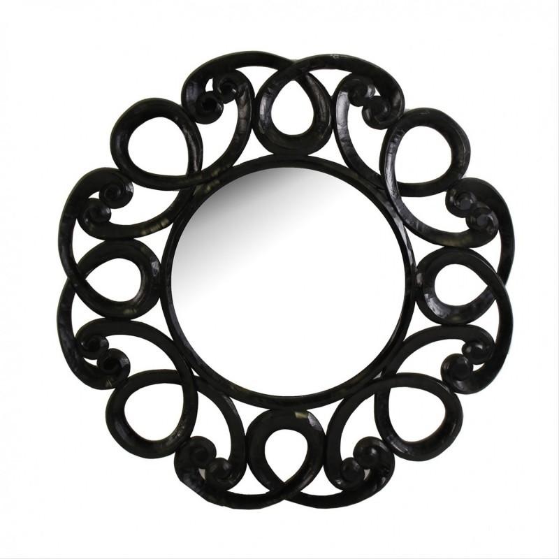 Oglinda decorativa design clasic, diam.120cm Priya 22494 VH, Corpuri de iluminat, lustre, aplice