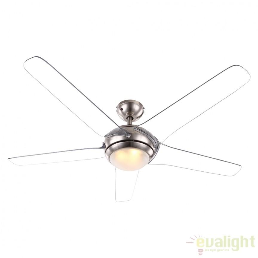 Lustra LED cu ventilator si telecomanda Fabiola 0344 GL, Rezultate cautare, Corpuri de iluminat, lustre, aplice a