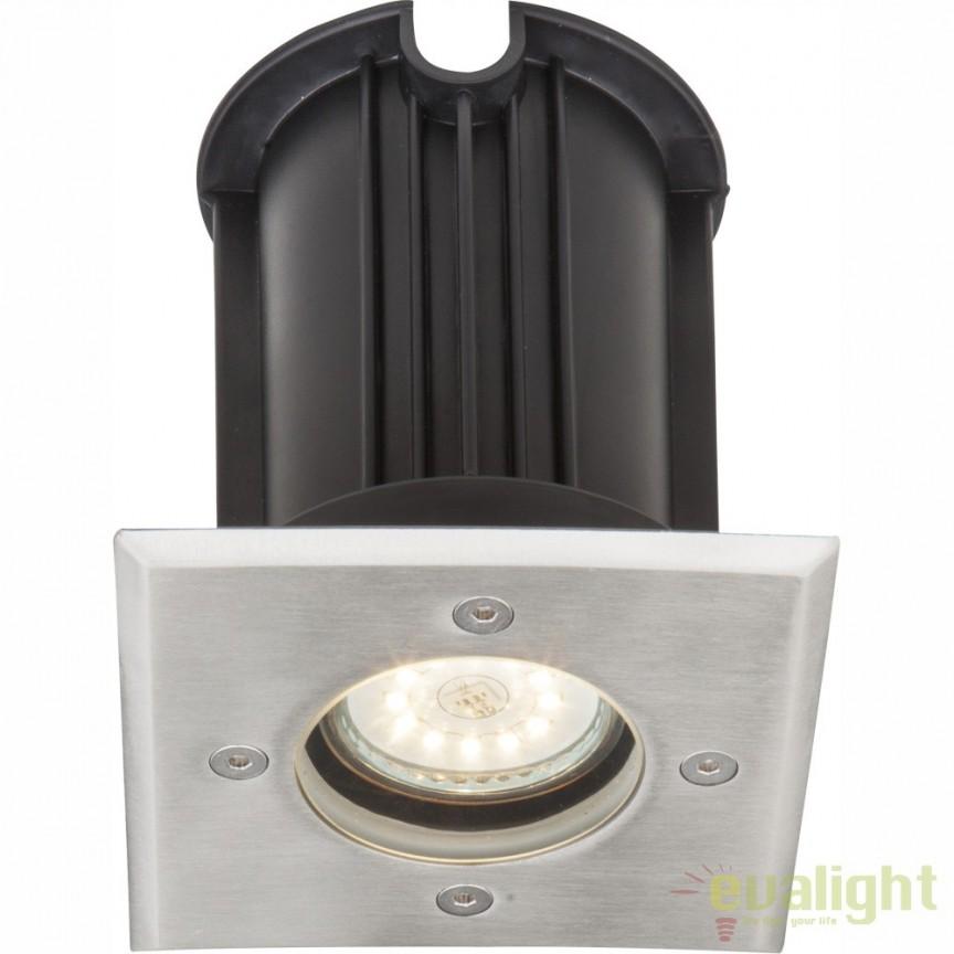 Spot incastrabil de exterior din otel inoxidabil GU10 si protectie IP67 STYLE II 31101 GL, Iluminat exterior incastrabil , Corpuri de iluminat, lustre, aplice, veioze, lampadare, plafoniere. Mobilier si decoratiuni, oglinzi, scaune, fotolii. Oferte speciale iluminat interior si exterior. Livram in toata tara.  a
