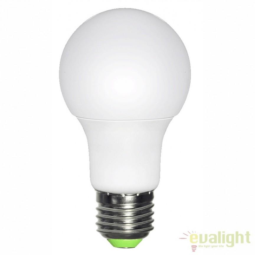Bec E27 LED opal 60W,810Lm,3000K 10600 GL, Magazin, Corpuri de iluminat, lustre, aplice, veioze, lampadare, plafoniere. Mobilier si decoratiuni, oglinzi, scaune, fotolii. Oferte speciale iluminat interior si exterior. Livram in toata tara.  a