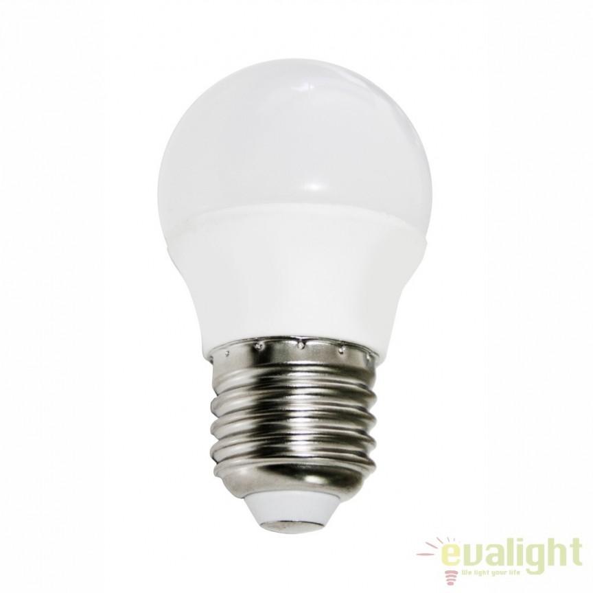 Bec E27 LED opal ILLU 45W, 495Lm, 4000K 10698C GL,  a
