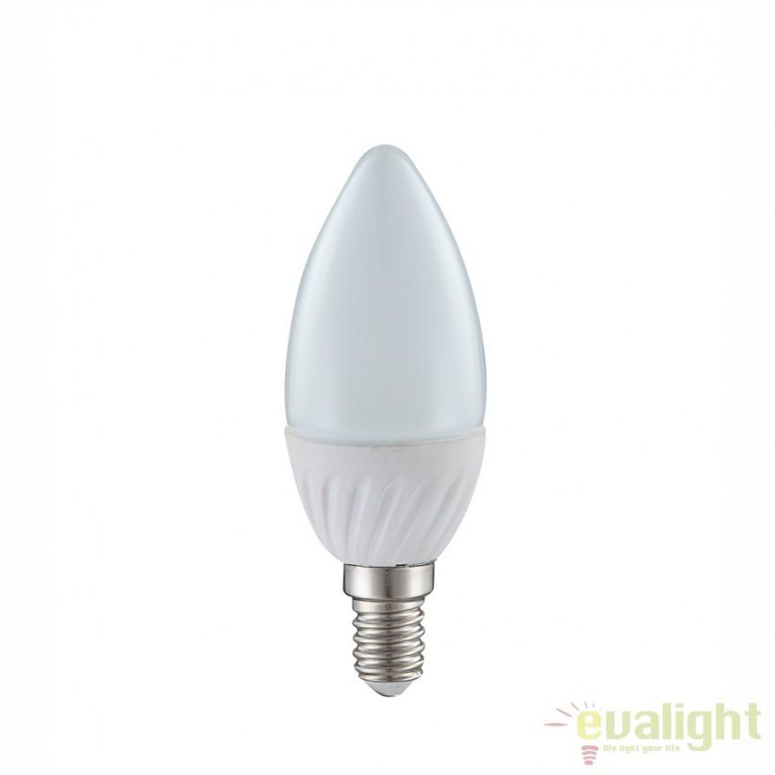Bec E14 opal candle 35W, 400Lm, 4000K 10640C GL, Becuri E14, Corpuri de iluminat, lustre, aplice, veioze, lampadare, plafoniere. Mobilier si decoratiuni, oglinzi, scaune, fotolii. Oferte speciale iluminat interior si exterior. Livram in toata tara.  a