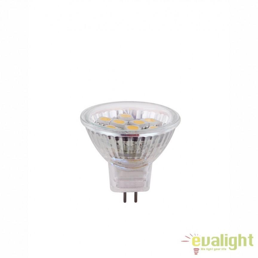 Bec GU4 MR11 LED 2W, 160Lm, 3000K 10120 GL, Becuri GU10, GU4, GU3,5, Corpuri de iluminat, lustre, aplice, veioze, lampadare, plafoniere. Mobilier si decoratiuni, oglinzi, scaune, fotolii. Oferte speciale iluminat interior si exterior. Livram in toata tara.  a