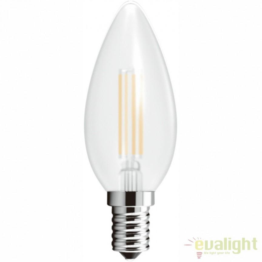 Set 2 Becuri E14 LED candle 4 W 380lm 4000K 10588-2SC GL, Becuri E14, Corpuri de iluminat, lustre, aplice, veioze, lampadare, plafoniere. Mobilier si decoratiuni, oglinzi, scaune, fotolii. Oferte speciale iluminat interior si exterior. Livram in toata tara.  a