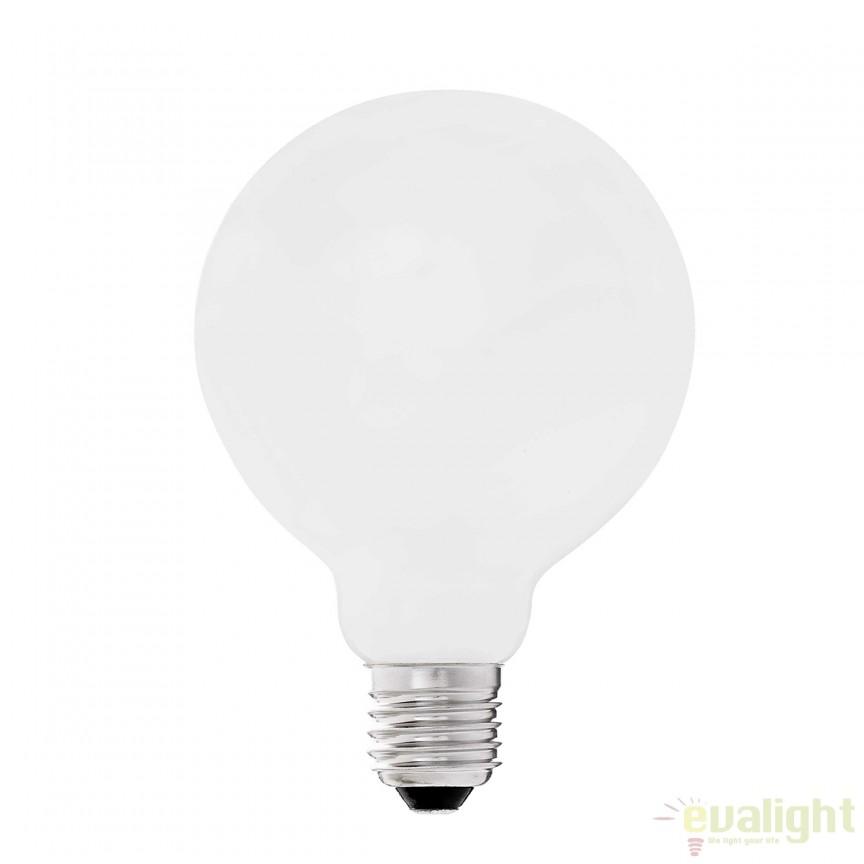 Bec LED G95 MATT E27 6W 2700K 17464 Faro Barcelona , Becuri E27, Corpuri de iluminat, lustre, aplice, veioze, lampadare, plafoniere. Mobilier si decoratiuni, oglinzi, scaune, fotolii. Oferte speciale iluminat interior si exterior. Livram in toata tara.  a