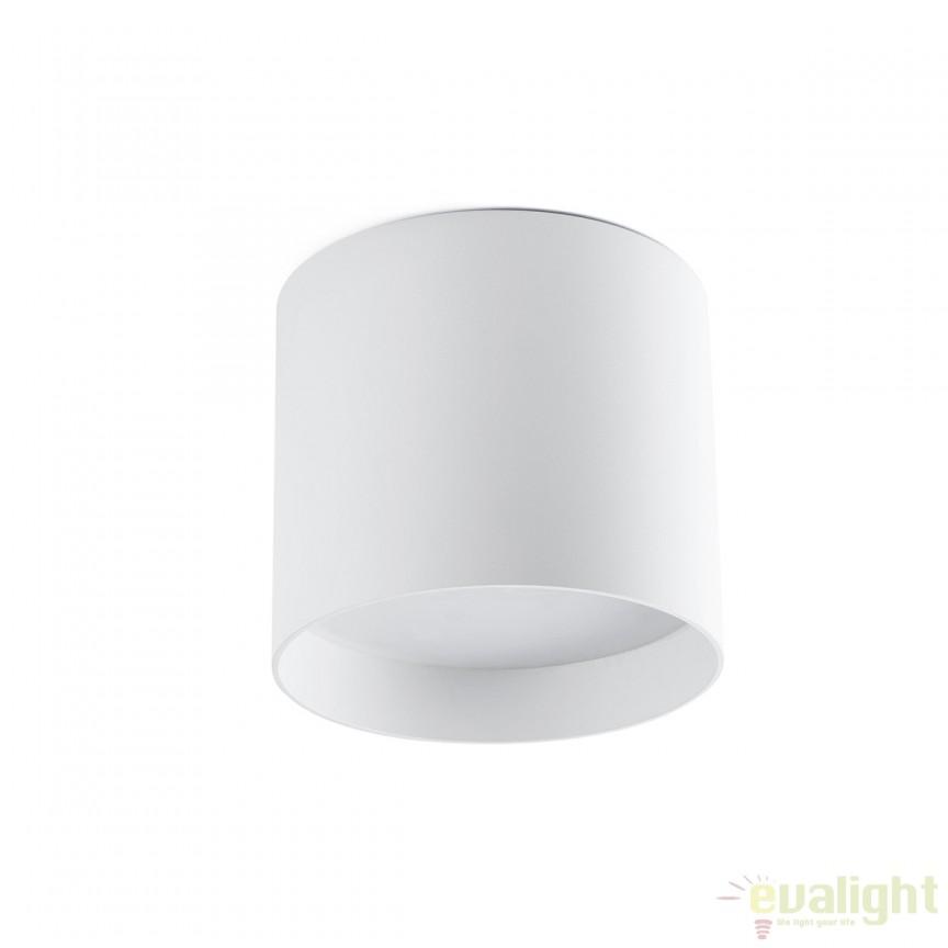 Plafoniera LED design modern minimalist NATSU alba 64204 Faro Barcelona, Spoturi incastrate, aplicate - tavan / perete, Corpuri de iluminat, lustre, aplice, veioze, lampadare, plafoniere. Mobilier si decoratiuni, oglinzi, scaune, fotolii. Oferte speciale iluminat interior si exterior. Livram in toata tara.  a